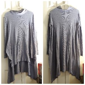 We the Free People Oversized High-Low tunic sz L